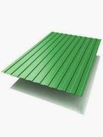 Профлист цветной зеленый С8  2х1,2м