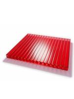 Сотовый поликарбонат красный